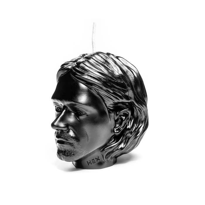 HEX Eyewear|藝術家 - Cobain|造形香氛蠟燭 - 黑色