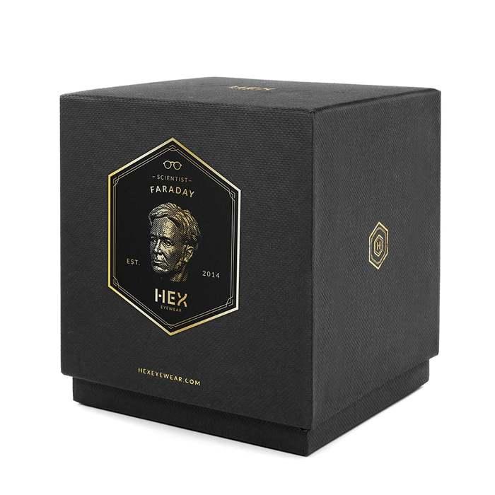 HEX Eyewear|科學家 - Farady|造形香氛蠟燭 - 黑色
