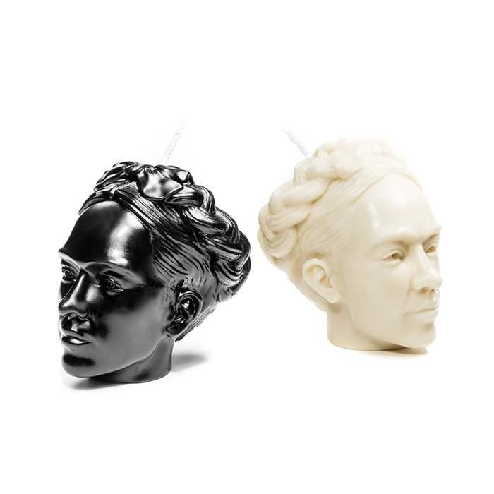 HEX Eyewear|藝術家 - Frida|造形香氛蠟燭 - 黑色