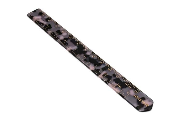 HEX Eyewear|尺|HEXETATE 眼鏡墨鏡板料配件 - 紫色啡花
