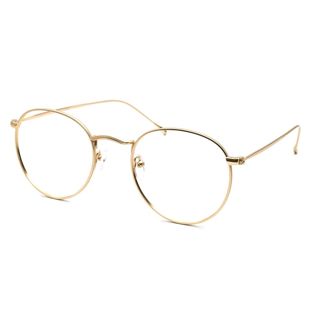 HEX Eyewear|Carrier No.0506│光學鏡框│平光眼鏡 - 電鍍金