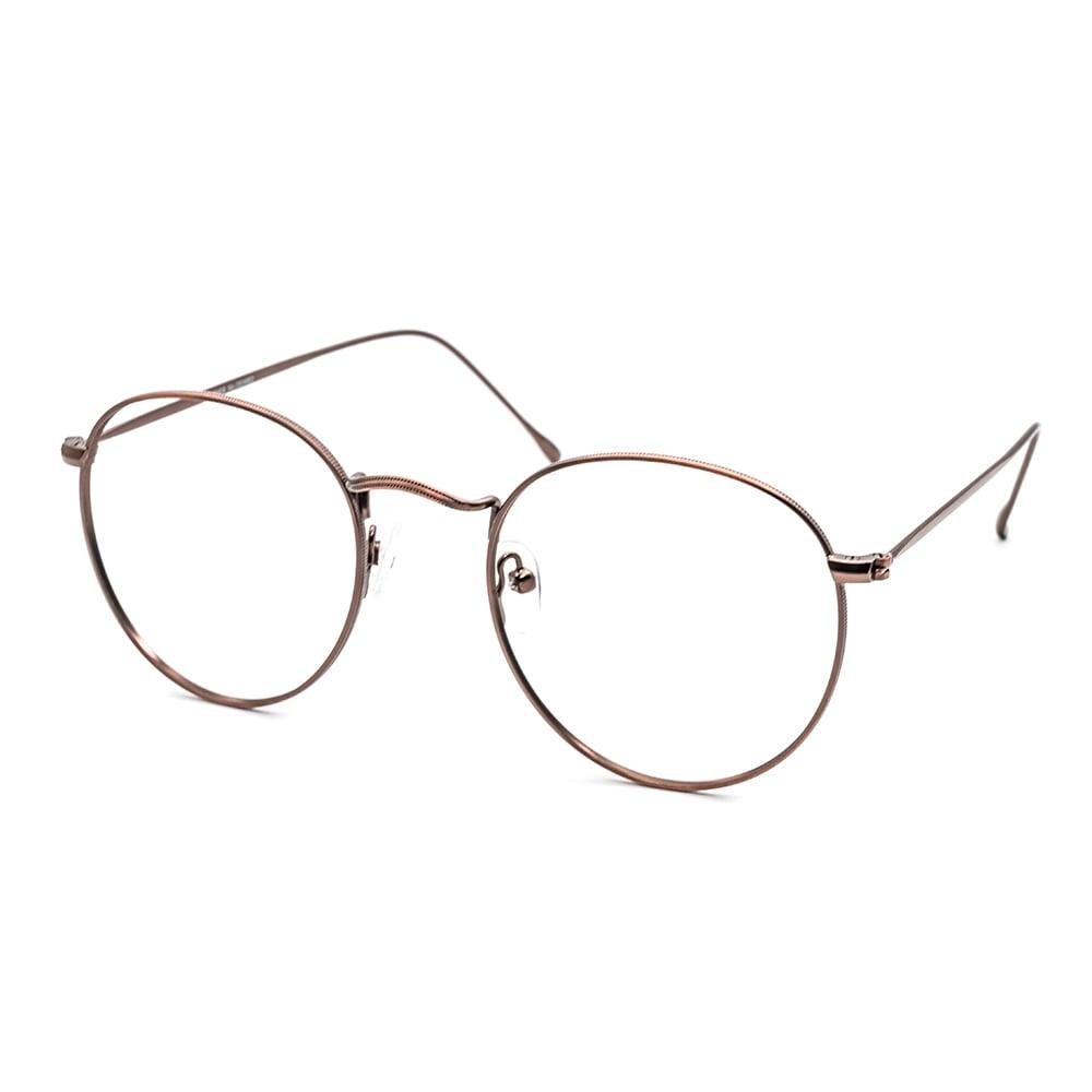 HEX Eyewear|Carrier No.0506│光學鏡框│平光眼鏡 - 古銅