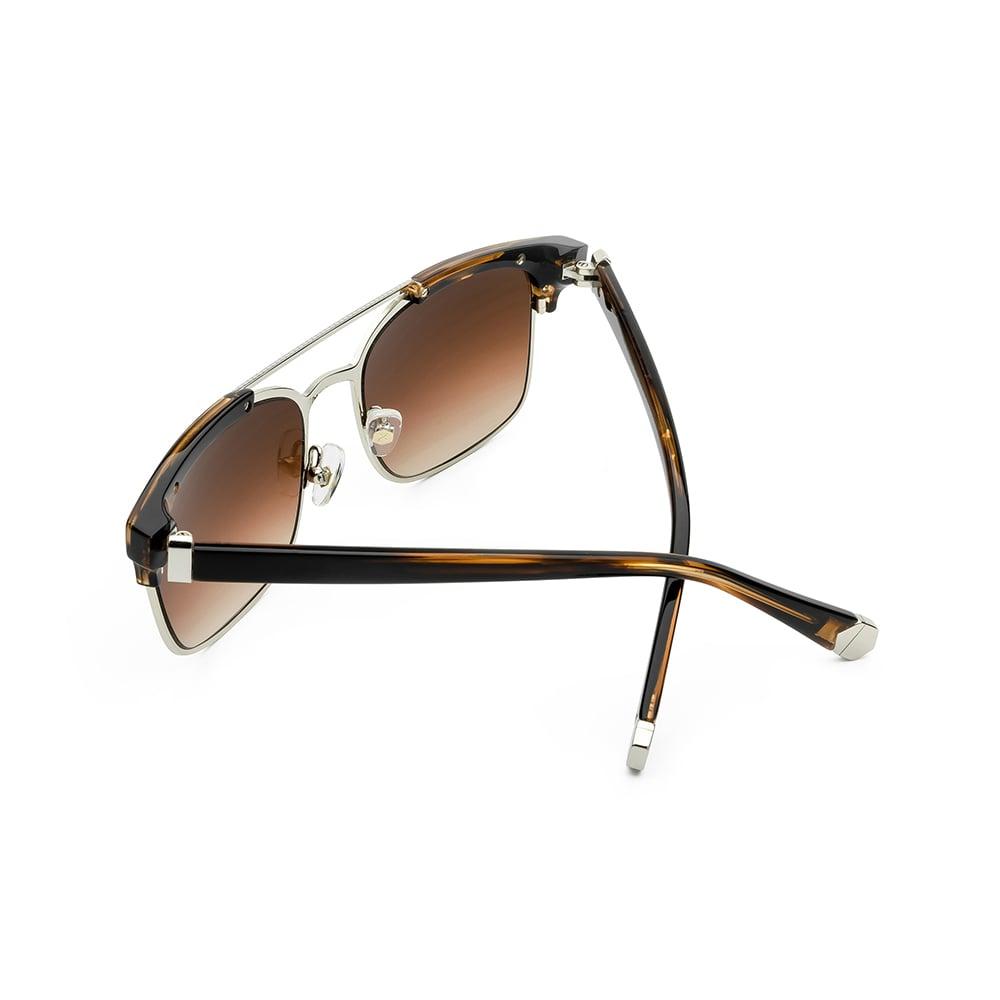 HEX Eyewear|律師 - Cicero│墨鏡│太陽眼鏡│義大利製 - 透褐