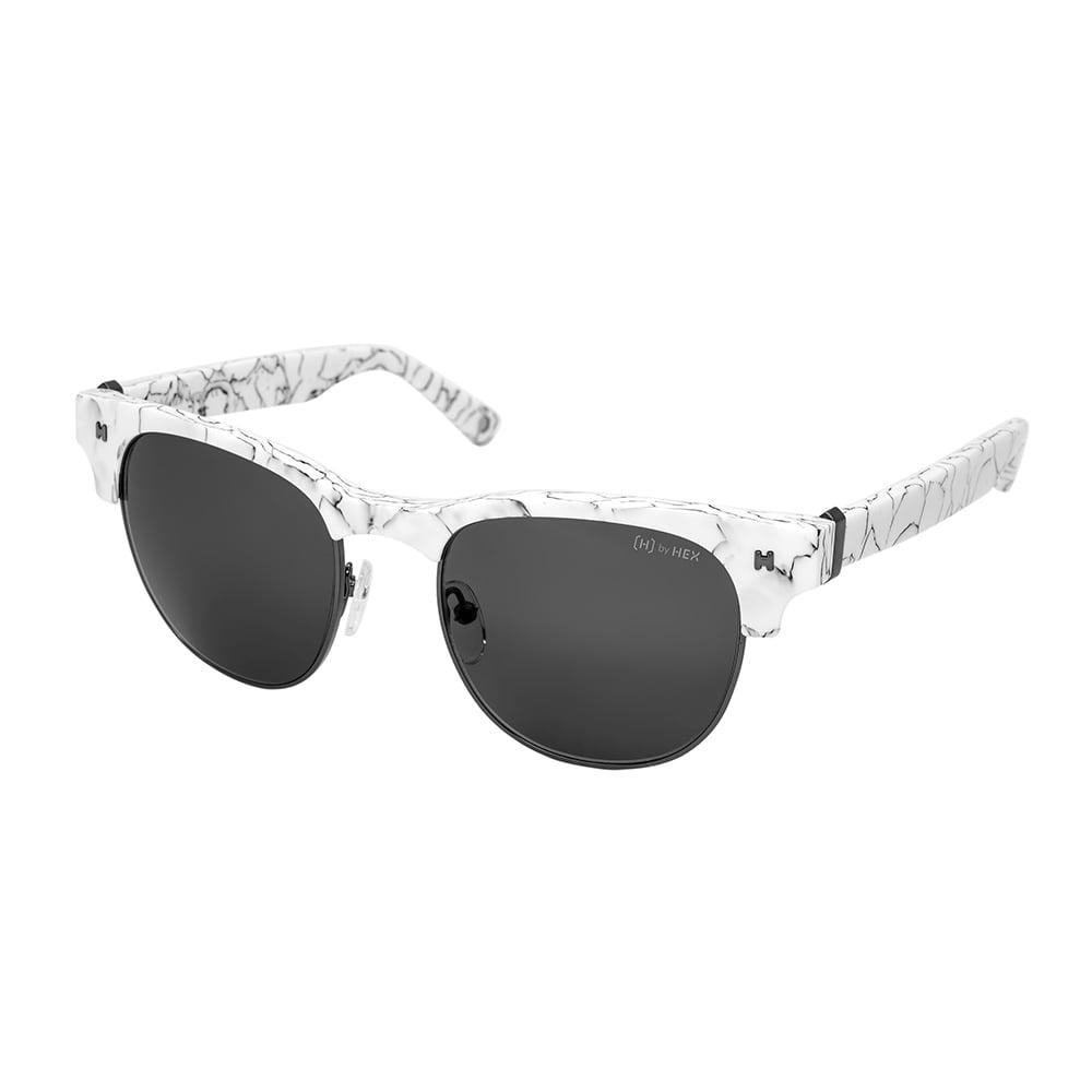 HEX Eyewear 藝術家 - Frida K.│墨鏡│太陽眼鏡│義大利設計 - 白色大理石紋