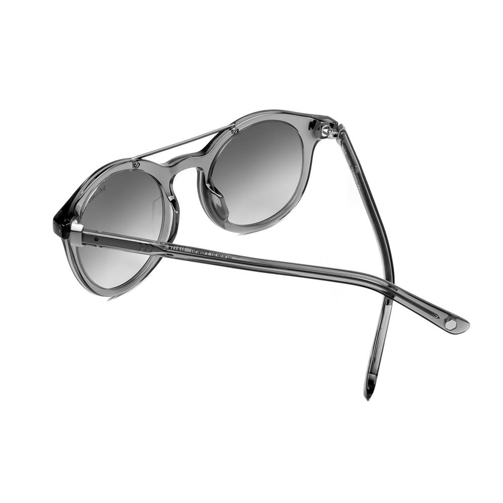 HEX Eyewear|科學家 - Charles D.│墨鏡│太陽眼鏡│義大利設計 - 灰色透明