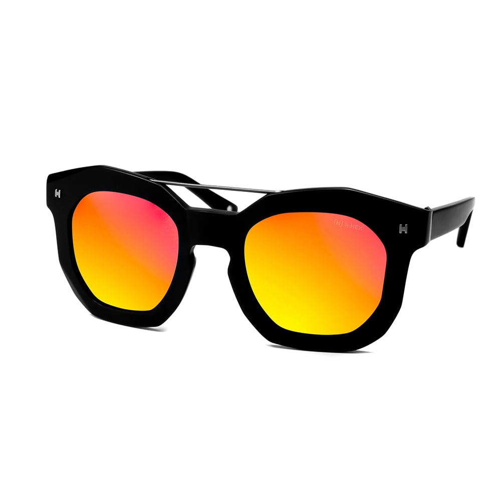HEX Eyewear|藝術家 - Andy W.│墨鏡│太陽眼鏡│義大利設計 - 黑色