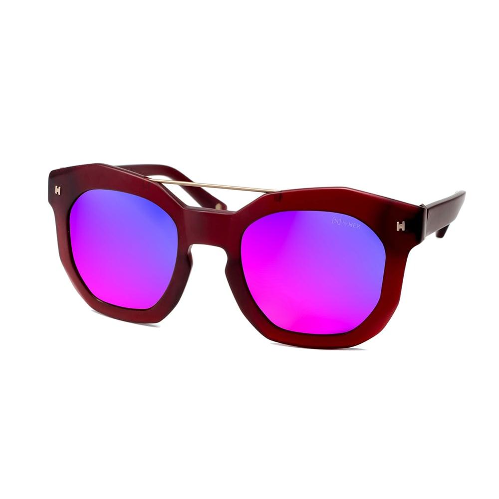 HEX Eyewear|藝術家 - Andy W.│墨鏡│太陽眼鏡│義大利設計 - 玫瑰紅