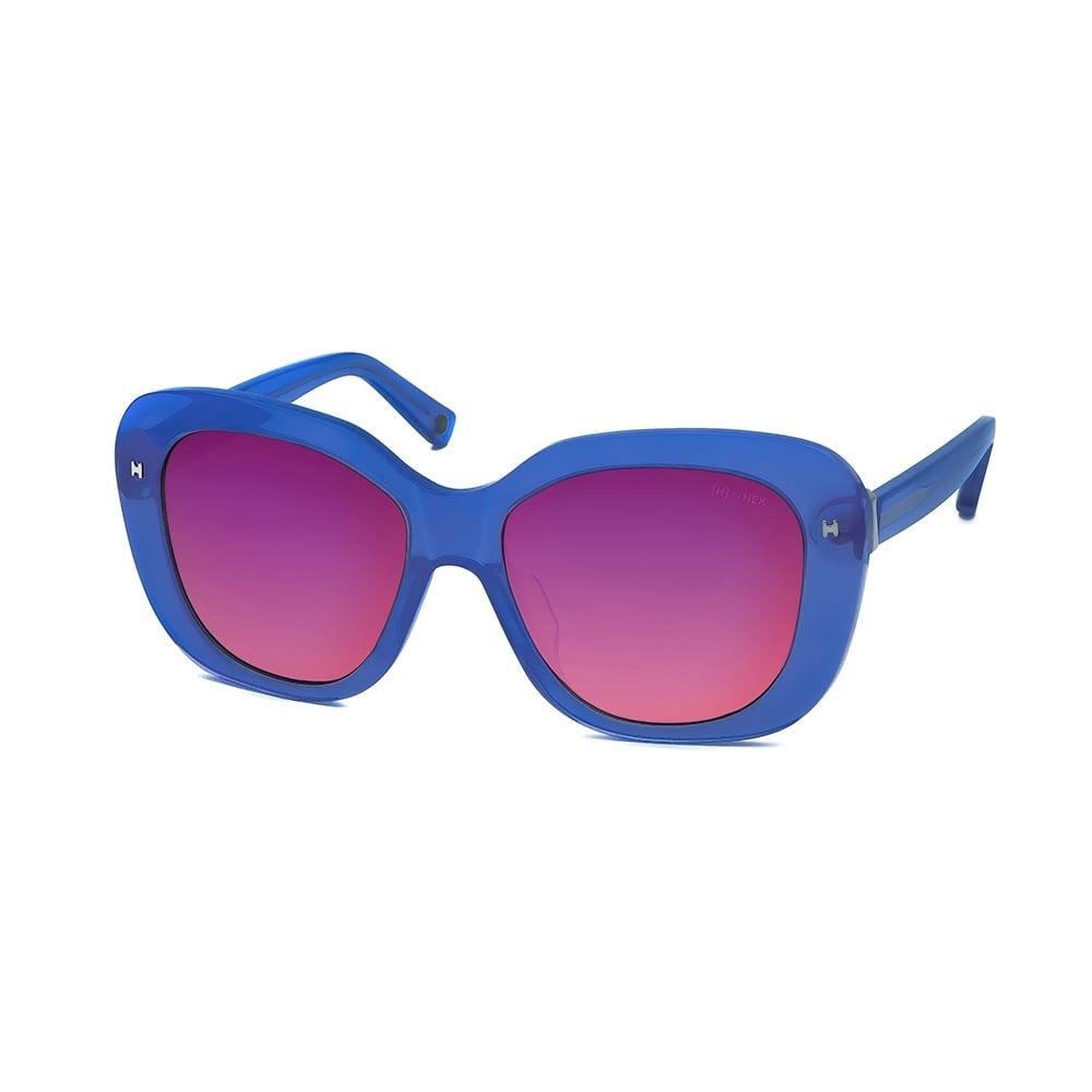 HEX Eyewear|設計師 - COCO C.│墨鏡│太陽眼鏡│義大利設計 - 透藍