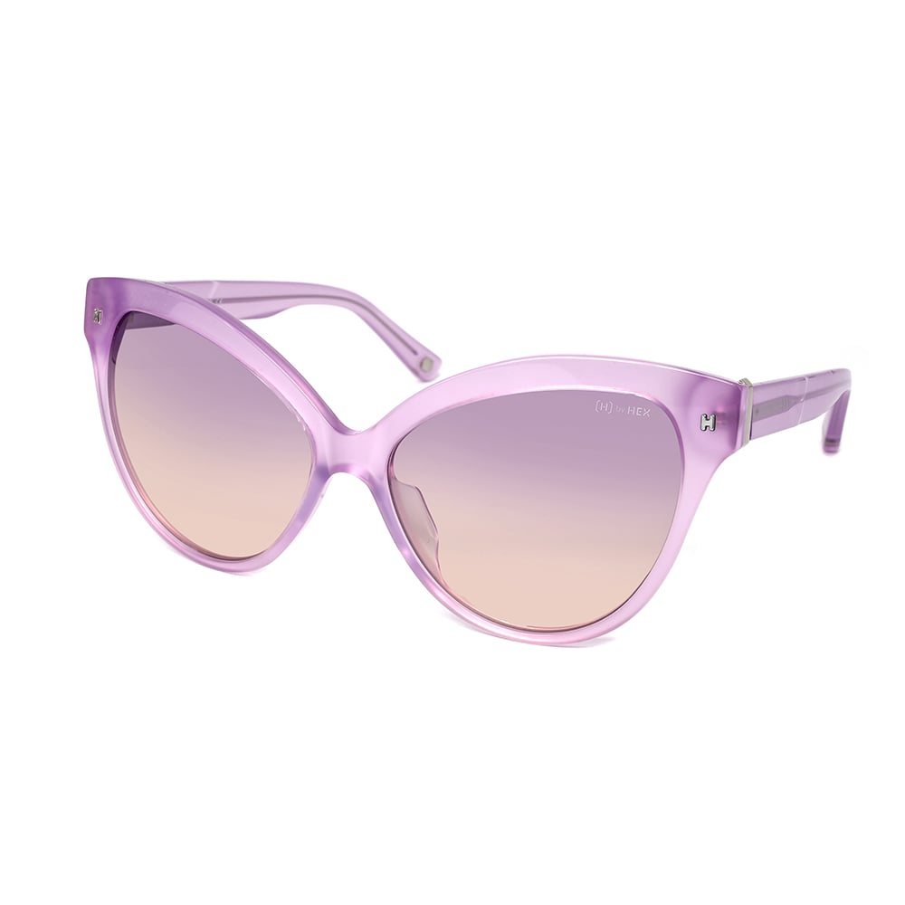HEX Eyewear 教育家 - Jocelyn B.│墨鏡│太陽眼鏡│義大利設計 - 透紫