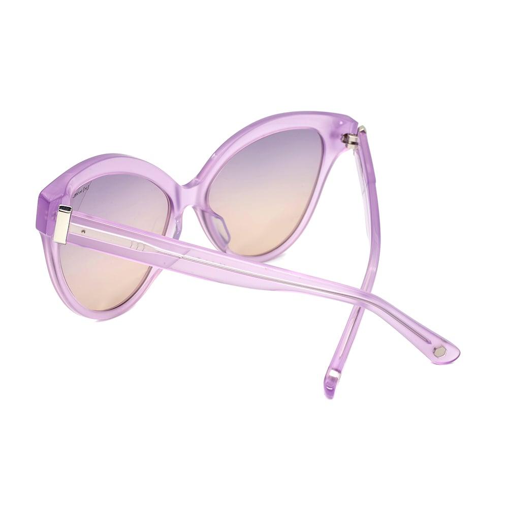 HEX Eyewear|教育家 - Jocelyn B.│墨鏡│太陽眼鏡│義大利設計 - 透紫
