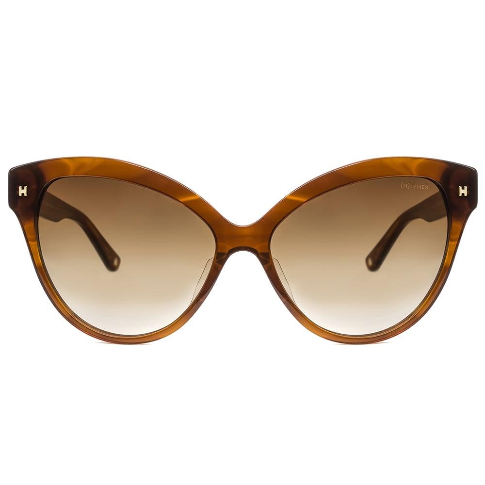 HEX Eyewear|教育家 - Jocelyn B.│墨鏡│太陽眼鏡│義大利設計 - 透褐