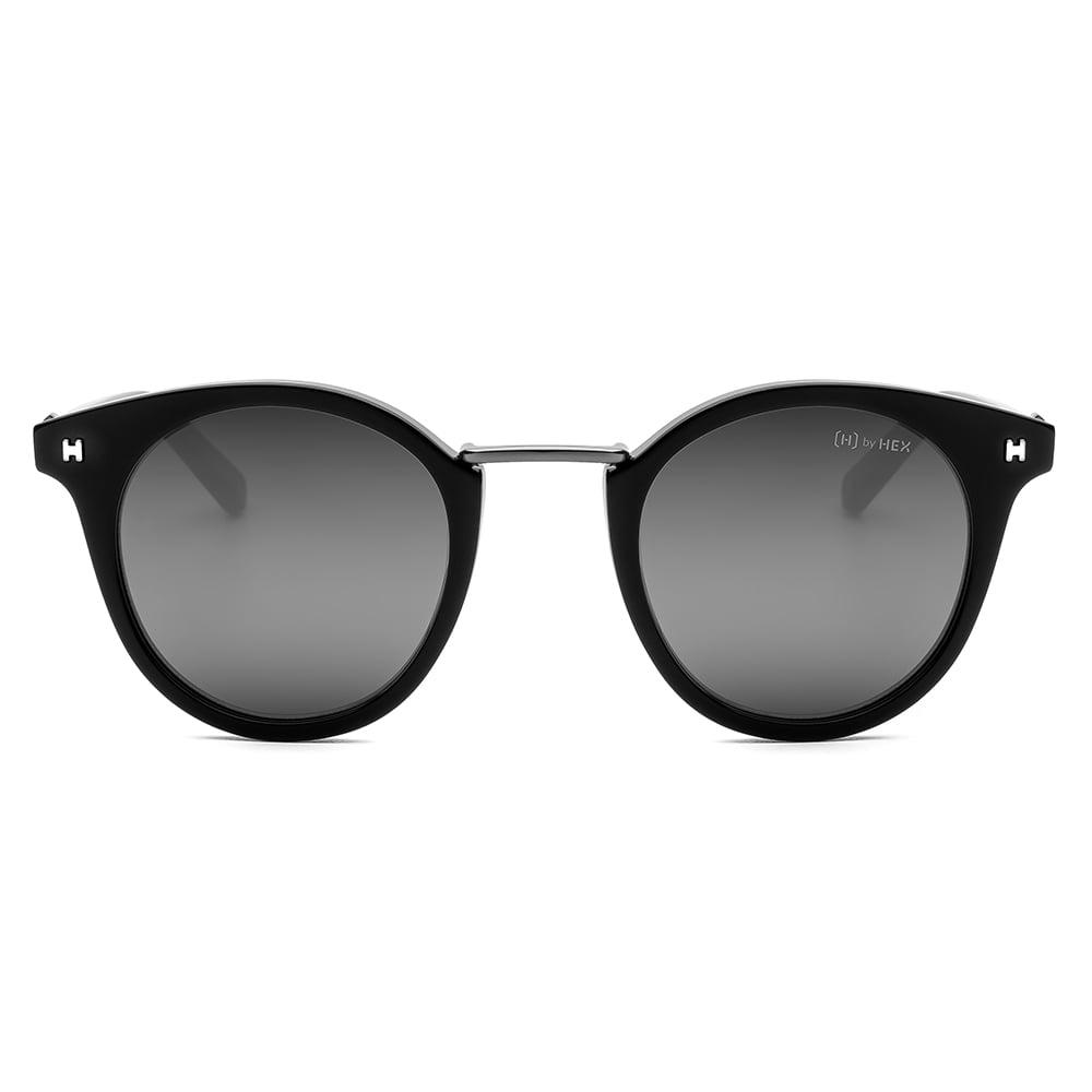 HEX Eyewear|政治家 - Henry S.│墨鏡│太陽眼鏡│義大利設計 - 黑色