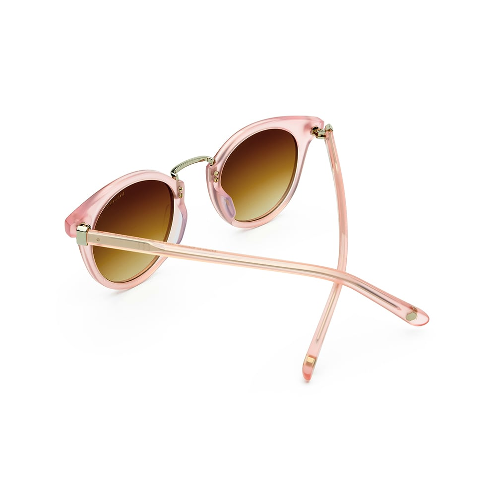 HEX Eyewear|政治家 - Henry S.│墨鏡│太陽眼鏡│義大利設計 - 透粉