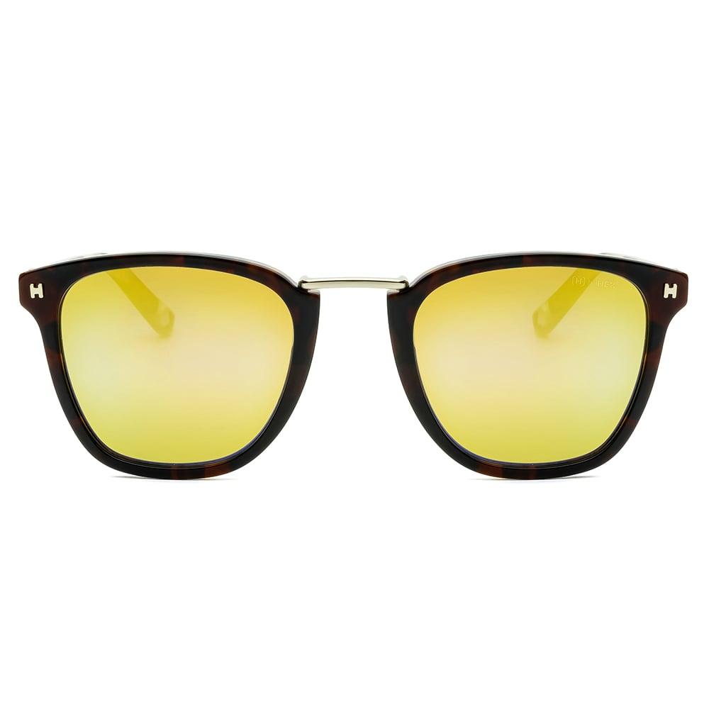 HEX Eyewear|交易者 - Viktor B.│墨鏡│太陽眼鏡│義大利設計 - 褐色雙層啡花
