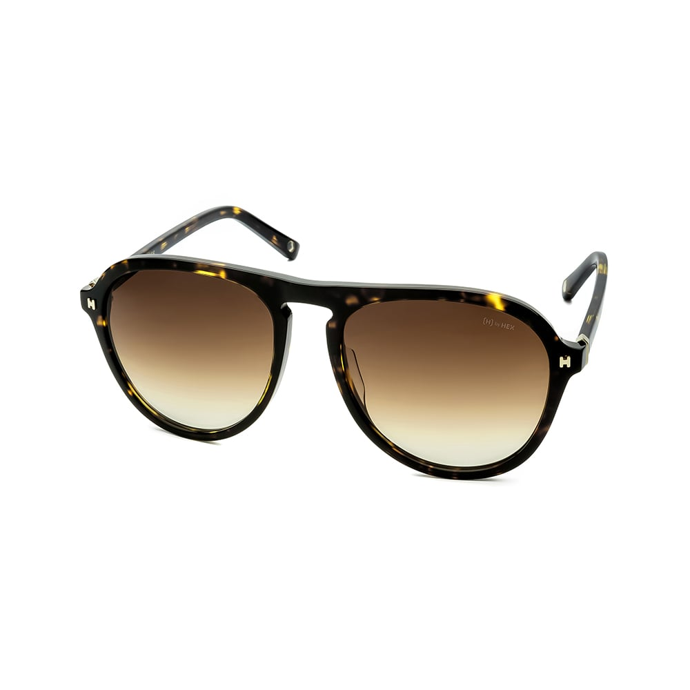HEX Eyewear|探險家 - Leif E.│墨鏡│太陽眼鏡│義大利設計 - 褐色啡花