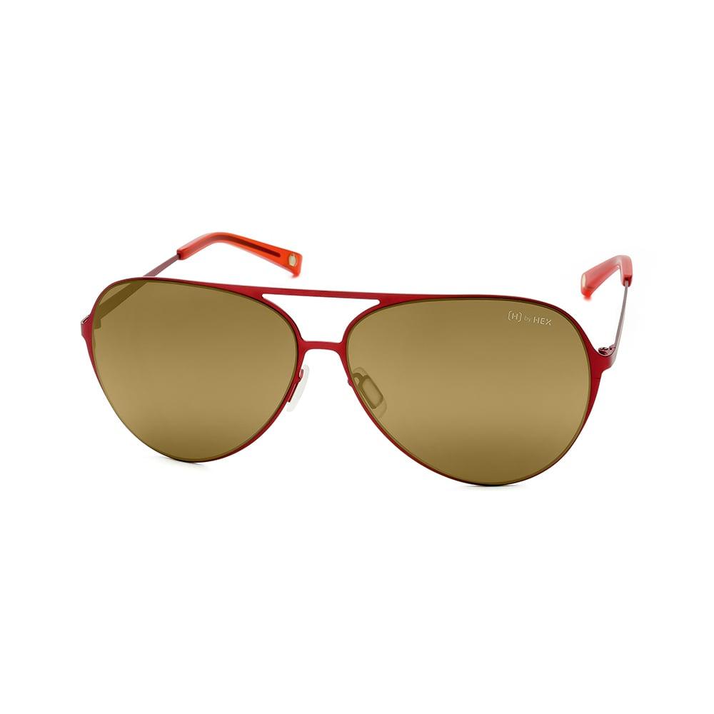 HEX Eyewear|飛行員 - Wilbur W.│墨鏡│太陽眼鏡│義大利設計 - 紅色