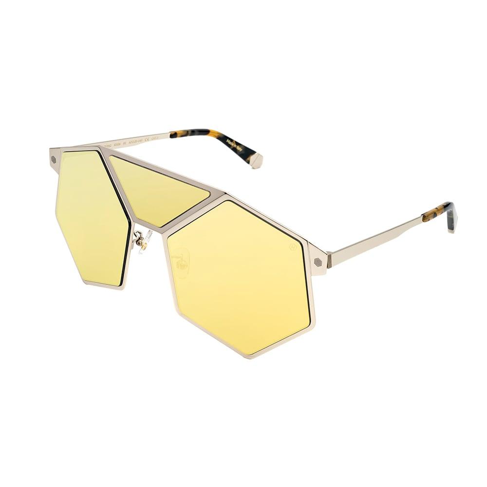 HEX Eyewear|完美的存在 - Leeloo│墨鏡│太陽眼鏡│義大利製 - 金色