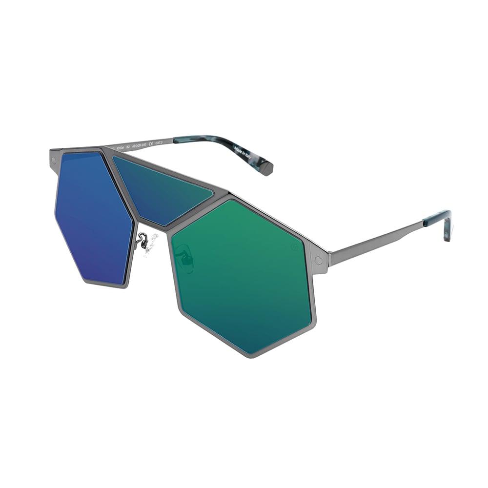 HEX Eyewear|完美的存在 - Leeloo│墨鏡│太陽眼鏡│義大利製 - 槍色