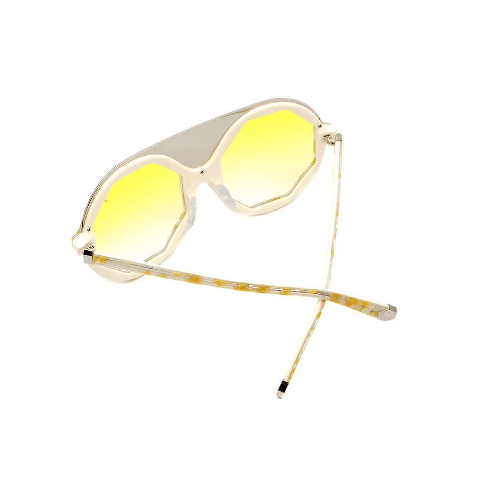 HEX Eyewear 夢想家 - Wonka│墨鏡│太陽眼鏡│義大利製 - 奶白啡花
