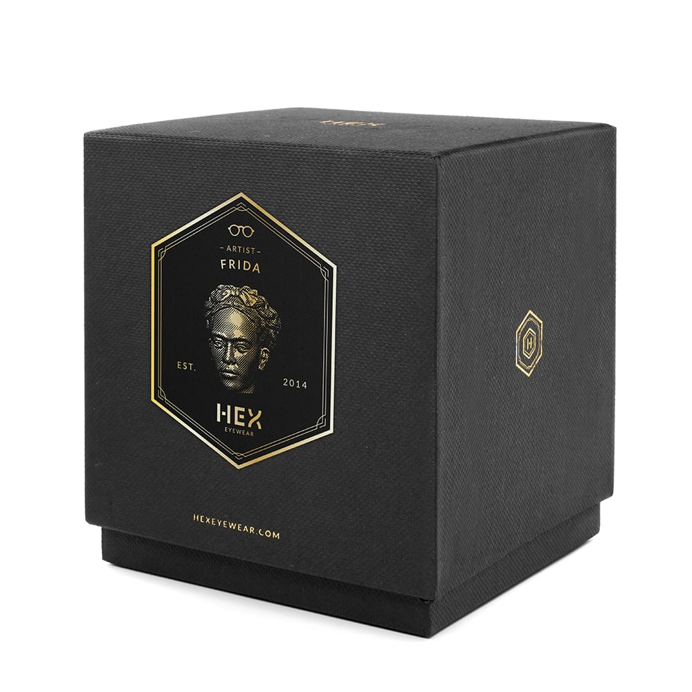 HEX Eyewear 藝術家 - Frida 造形香氛蠟燭 - 黑色