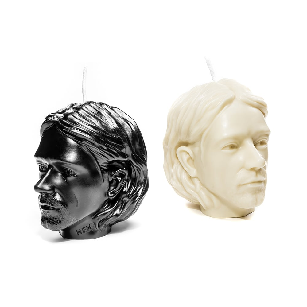 HEX Eyewear|藝術家 - Cobain|造形香氛蠟燭 - 米白色