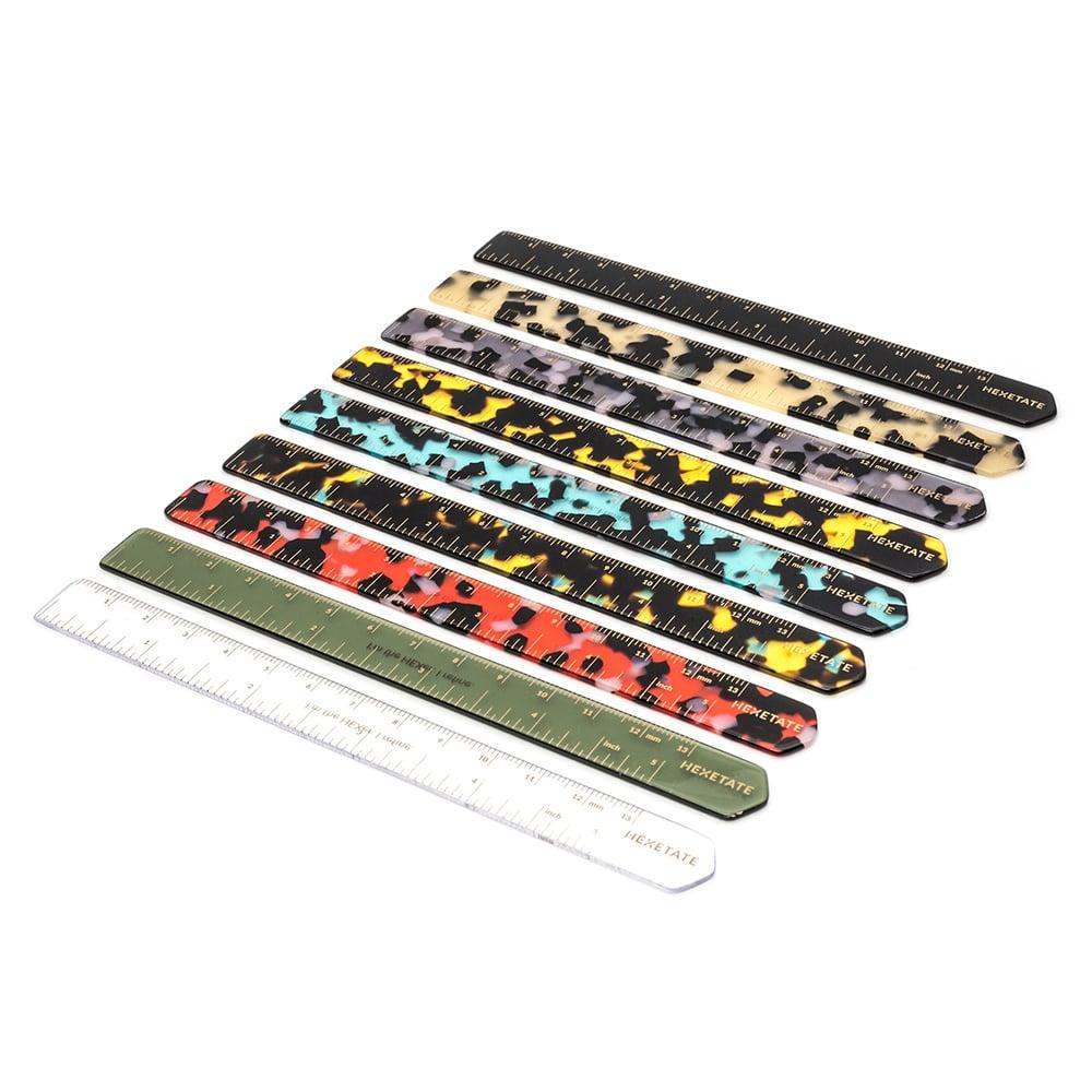 HEX Eyewear|尺|HEXETATE 眼鏡墨鏡板料配件 - 藍綠啡花