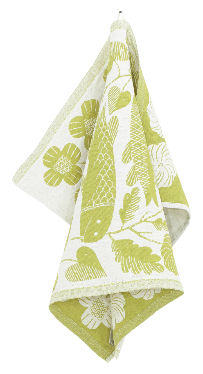 (複製)Lapuan Kankurit|鹿兒島睦鯉魚萬用擦巾 (藍莓色)