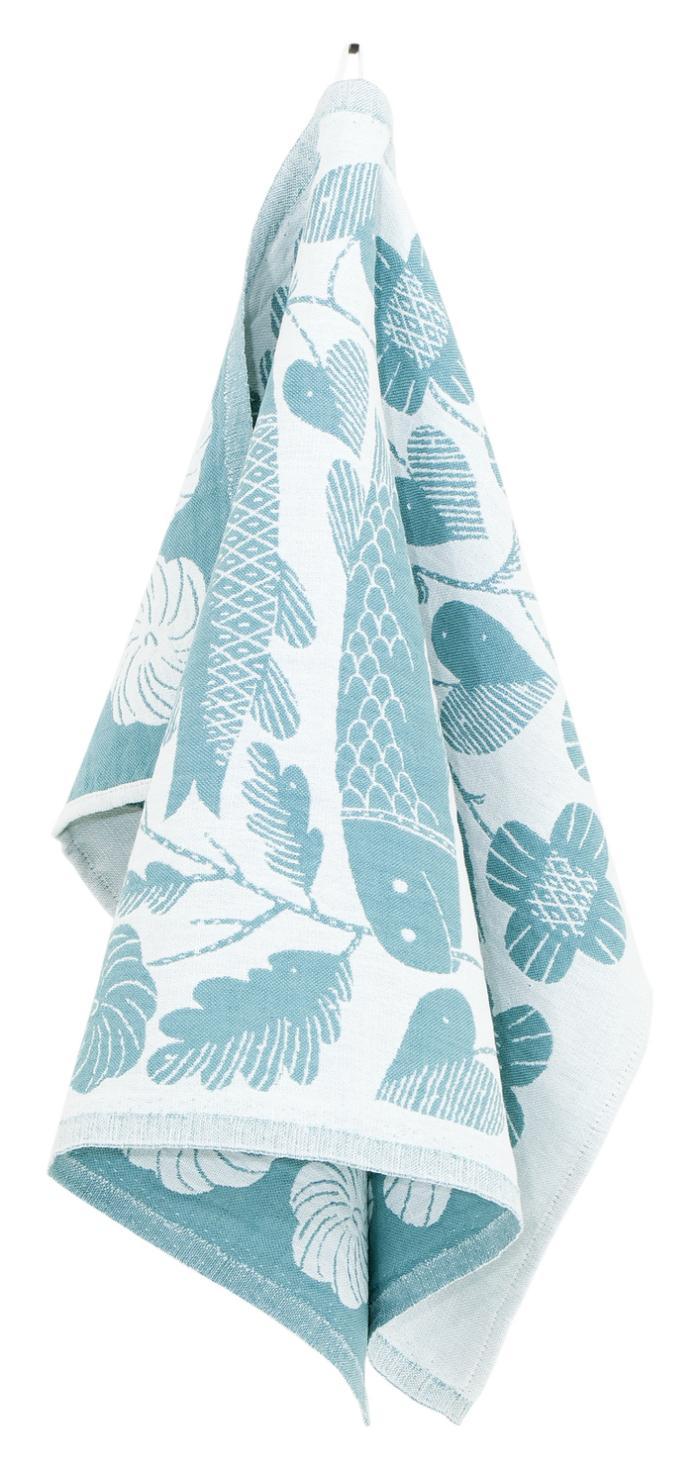 Lapuan Kankurit|鹿兒島睦鯉魚萬用擦巾 (水藍)