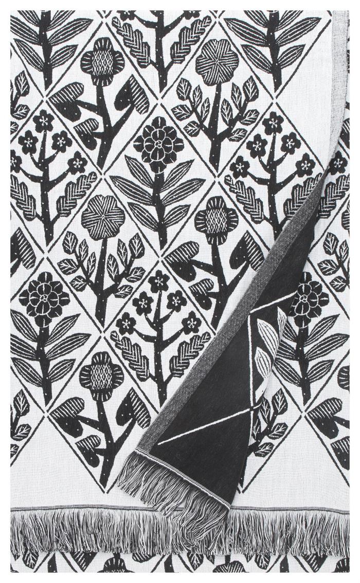 (複製)Lapuan Kankurit|鹿兒島睦花束長桌巾 (黑白)
