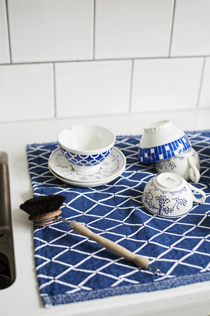 Lapuan Kankurit|Eskimo棉麻餐墊 (深藍)