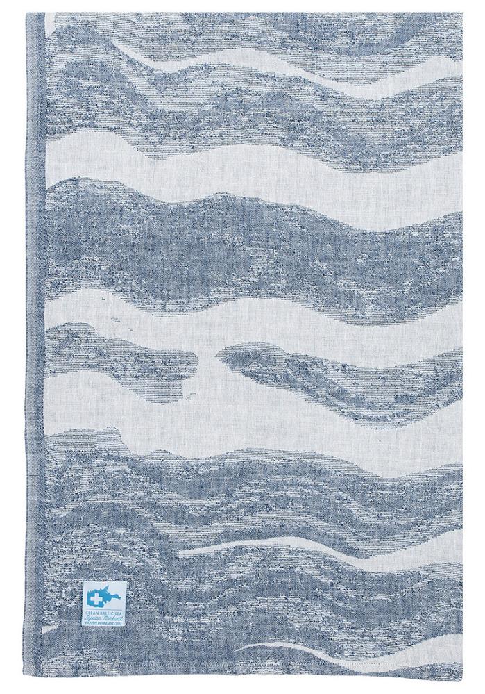 (複製)Lapuan Kankurit|灰色波浪棉麻萬用擦巾