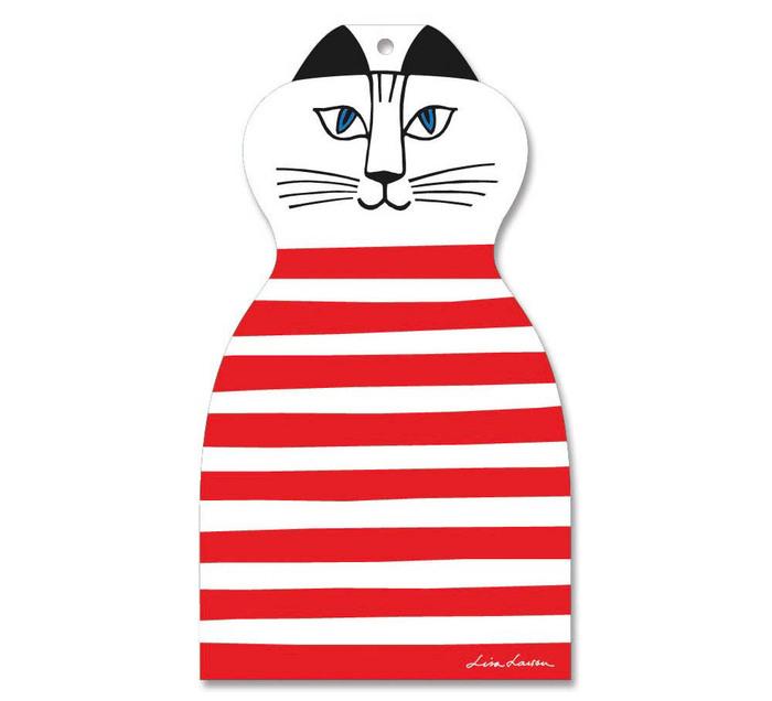 (複製)Lisa Larson|Mimi貓白樺木砧板/餐墊