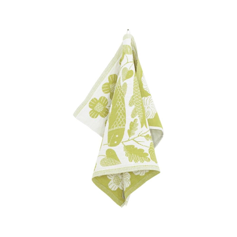 Lapuan Kankurit|鹿兒島睦鯉魚萬用擦巾 (草綠)