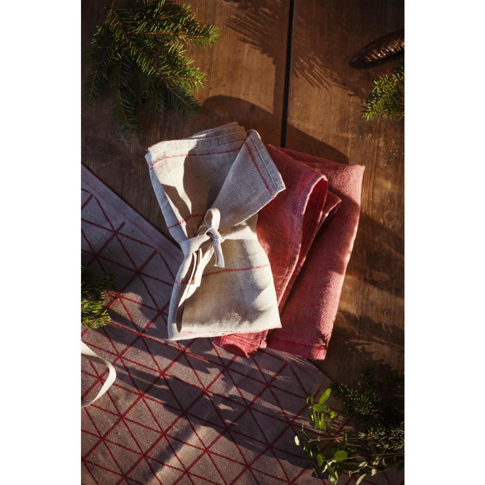 Lapuan Kankurit|COLOMBINA長桌巾 (紅)