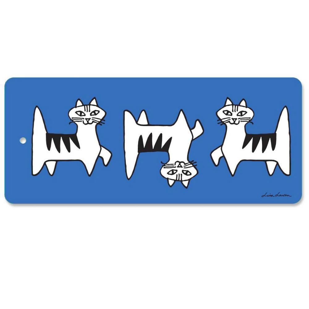 Lisa Larson|Felix貓白樺木砧板/餐墊 (藍)