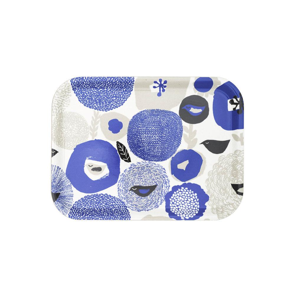 Kauniste|白樺木托盤 (紫色星期天)