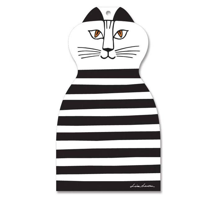 (複製)Lisa Larson Mimi貓造型白樺木砧板/餐墊 (藍條紋)
