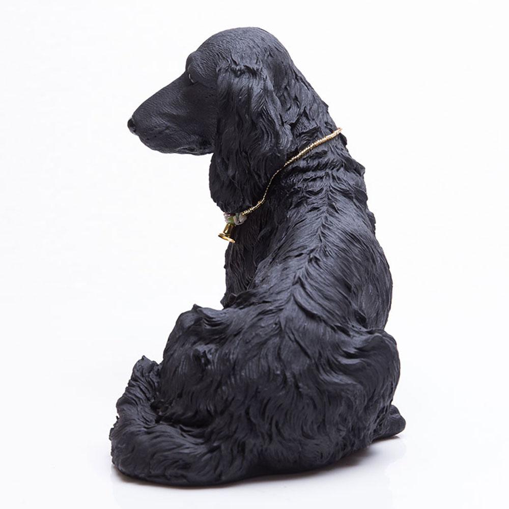 土山炭製作所│紀州備長炭寵物裝飾 - 長毛臘腸(XL)