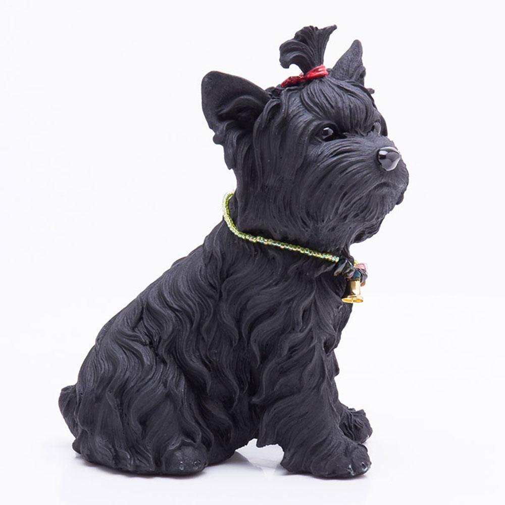 土山炭製作所│紀州備長炭寵物裝飾 - 約克夏(L)