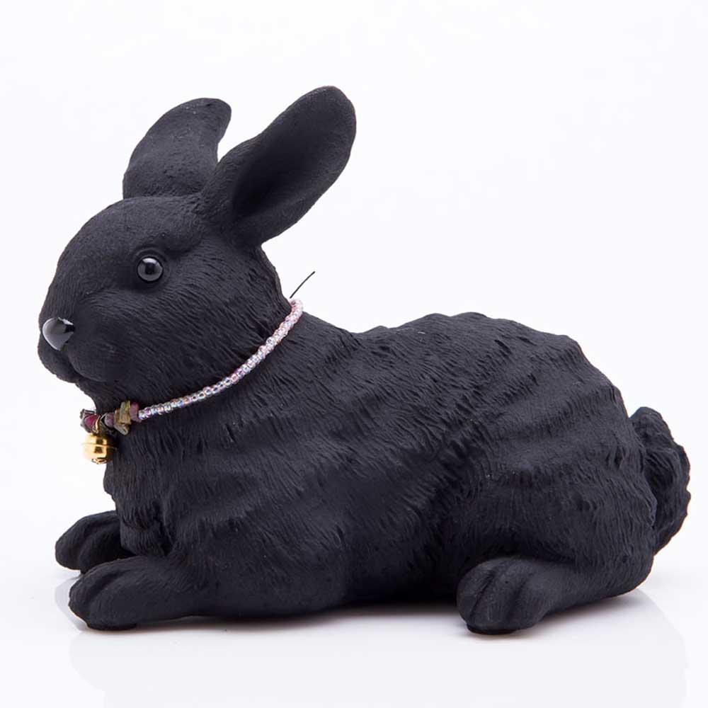 土山炭製作所│紀州備長炭寵物裝飾 - 兔子(XS)
