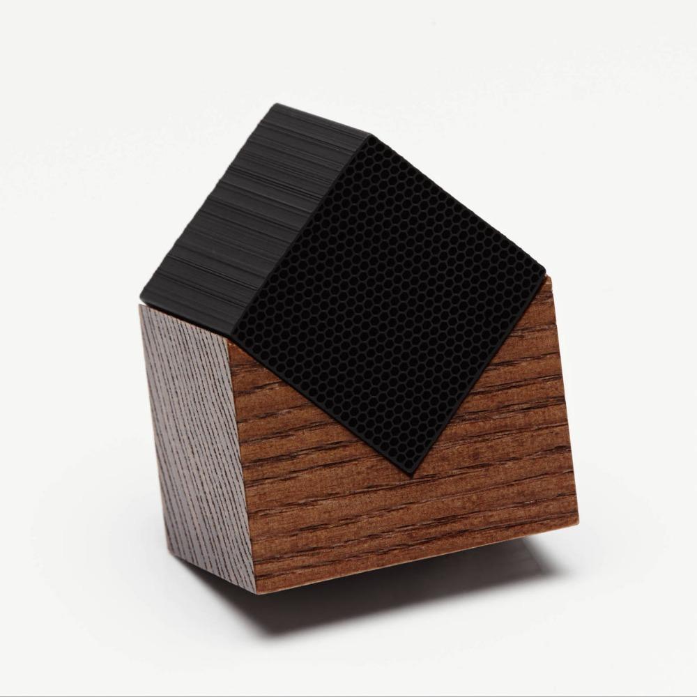 土山炭製作所│京都竹炭空氣淨化房屋造型迷你方塊(褐色)