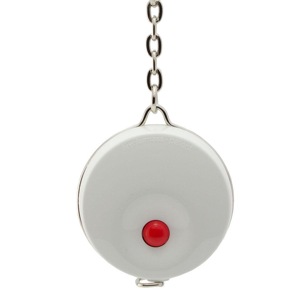 德國 Hoechstmass 鑰匙圈捲尺 1.5m -白