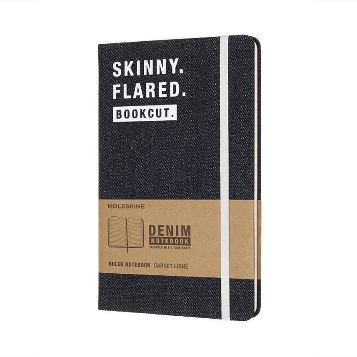 單寧限定筆記本-Skinny Flared L型橫線
