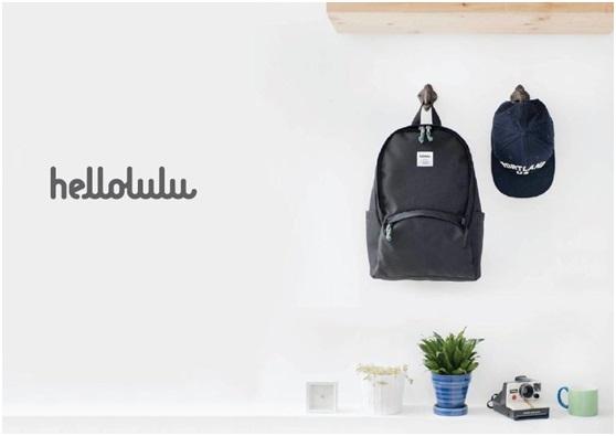 Hellolulu|Desi休閒側背包煙燻藍