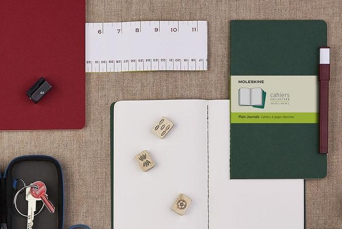 MOLESKINE|CAHIER輕便筆記本-L型空白