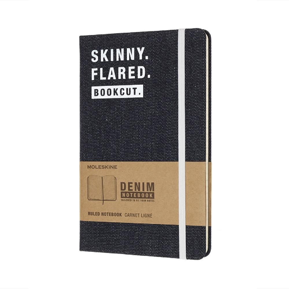 MOLESKINE|單寧限定筆記本-Skinny Flared L型橫線