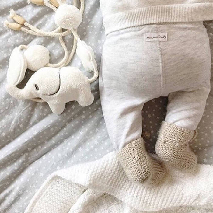 Petit Stellou 可愛小象床邊吊飾