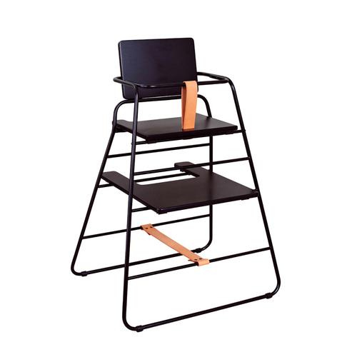 BudtzBendix TOWER chair 嬰兒高腳椅(黑/咖)