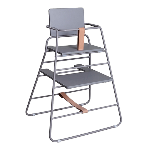 BudtzBendix TOWER chair 嬰兒高腳椅(灰/褐)