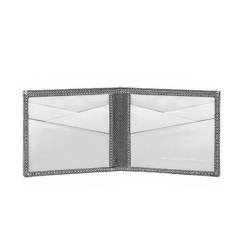 StewartStand|不鏽鋼RFID防盜男短夾 Checkered